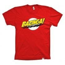 Camiseta Bazinga Sheldon Cooper