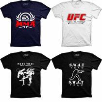 Camisetas Militares Lutas Sports Mma Ufc Muay Thai Cccp