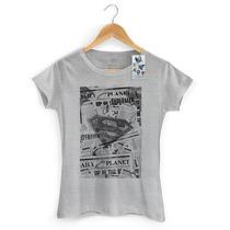 Camiseta Feminina Oficial Superman Planeta Diário - Bandup!