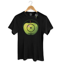 Camiseta Masculina Oficial The Beatles Apple Lp Basic Bandup