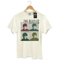 Camiseta Masculina Oficial The Beatles Four Square - Bandup!