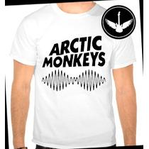 Camiseta Arctic Monkeys Am Baby Look Rock Banda Regata Blusa