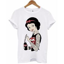 Camiseta - Branca De Neve Rock´n Roll