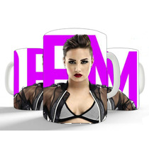 Kit Camisetas + Caneca Demi Lovato Exclusiva Presente