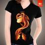 Camisetas Tv, Filmes Desenhos Animados - Rei Leão Simba