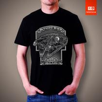 Camisetas Tv E Desenhos - Star Wars Falcon Millenium
