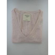 Abercrombie Camiseta Feminina Rosa Tamanho P
