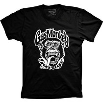 Camiseta Gas Monkey Garage Seriado Dallas Texas Discovery