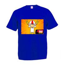 Camiseta Adulto Colorida Kick Buttowski