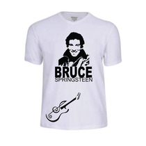 Camisas Camisetas Bruce Springsteen Banda Baby Look Rock Pop