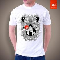 Camisetas Tv Filmes Heróis Desenhos - Bruxa Branca De Neve
