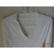 Blusa Feminina Lã Decote V