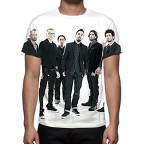 Camisa, Camiseta Banda Linkin Park - Estampa Total
