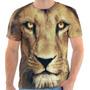 Camiseta Camisa Leão Bicho, Masculina E Feminina