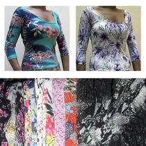 Lote 12 Blusas Femininas Plus Size Meia Estação Atacado
