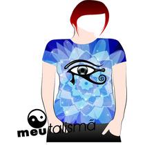 Camiseta,baby Look,regata Masc. Ou Feminina Olho De Horus