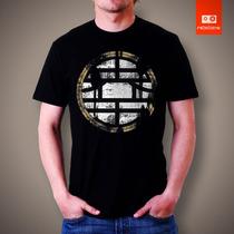 Camisetas Tv E Desenhos - Dragon Ball Dbz Brasão