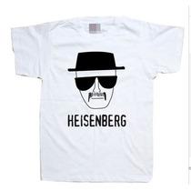 Camiseta Breaking Bad Walter White Heisenberg 100% Poliéster