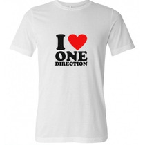 Camiseta I Love One Direction 1d