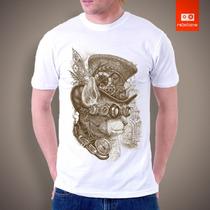 Camisetas Game 100% Algodão Fio 30/1 Penteado Qualidade Silk