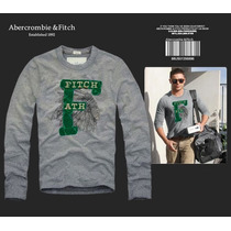 Camisetas Abercrombie & Fitch Manga Longa Pronta Entrega !