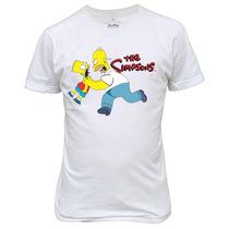 Camiseta Engraçadas The Simpsons