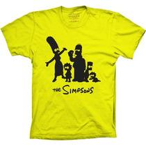 Camisetas Os Simpsons Duff Simpsons Desenho Bart Homer Duff