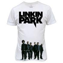 Camiseta Ou Baby Look Linkin Park Banda De Rock
