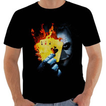Camiseta Joker Coringa Curinga Batman Heath Ledger