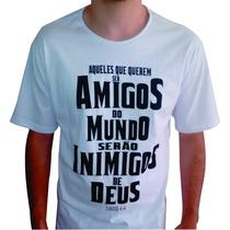Camiseta Evangélica - Gospel Wear - Patmos Wear