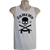 Camiseta Regata Masculina Rock Bandas Game Skate Sumemo