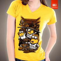 Camisetas De Filmes Desenhos Heróis Minions Star Wars