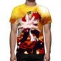 Camisa, Camiseta Naruto Gaara - Estampa Total