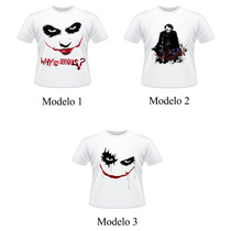 Camiseta Coringa Joker Why So Serious Adulto E Infantil