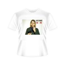 Camiseta Kurt Cobain Tradicional Ou Babylook
