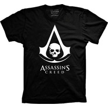 Camiseta Assassins Creed - Camisa Black Flag, Games