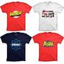 Camisetas The Big Bang Theory Bazinga Heróis Sheldon Seriado