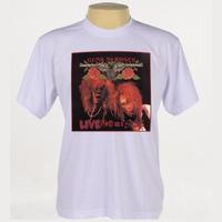 Camiseta Rock - Guns N Roses, Slash, Led Zeppelin