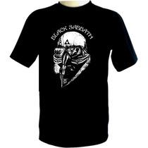Camiseta Black Sabbath - Camisa Tour 78, Homem De Ferro