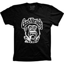 Camiseta Gas Monkey Garage Loucos Por Carros Série Discovery