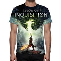 Camisa, Camiseta Game Dragon Age Inquisition - Estampa Total