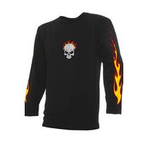 Camiseta Ghost Rider Motoqueiro Fantasma Caveira De Fogo Occ