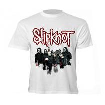 Camiseta Banda Slipknot - Camisa Slip
