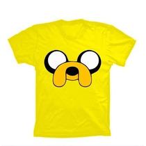 Camiseta Infantil Hora De Aventura Camisa Jake Finn