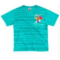 Camiseta Infantil Pica-pau Brandili B 31966.044