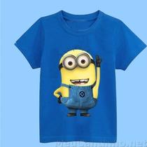 Camiseta Infantil Minions - Meu Malvado Favorito