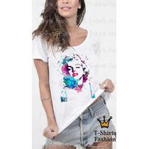 Camiseta Blusa Mary Monroe
