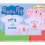 Kit Aniversário Peppa Pig Ou George Personalize Nome E Idade
