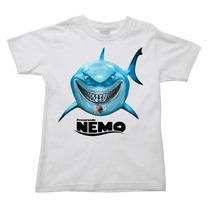 Camiseta Procurando Nemo Procurando Dory Dori Infantil 011