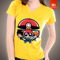 Camisetas Heróis Meninas Super Poderosas Pokemon Desenho